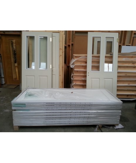 Doras Atherton Regency Door Glazed 4P smooth