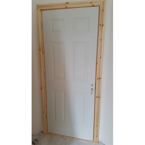 Pre hung doors double swing dbl door with 20 x 24 windows for Pre hung doors