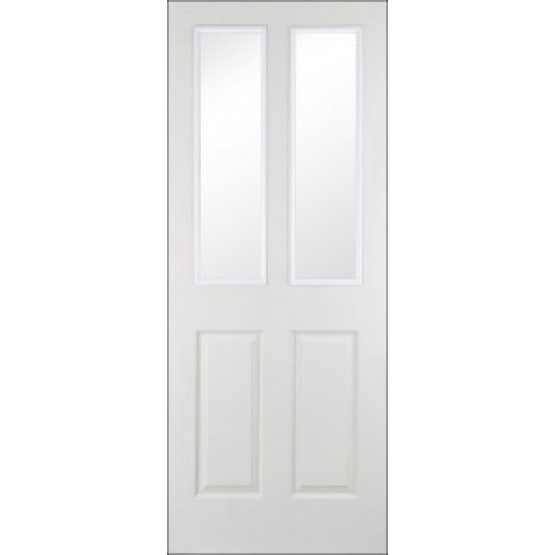 Doras Canterbury Regency Door Glazed 4P Woodgrain