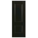 Doras Arnhem 1P European Black Finish Door