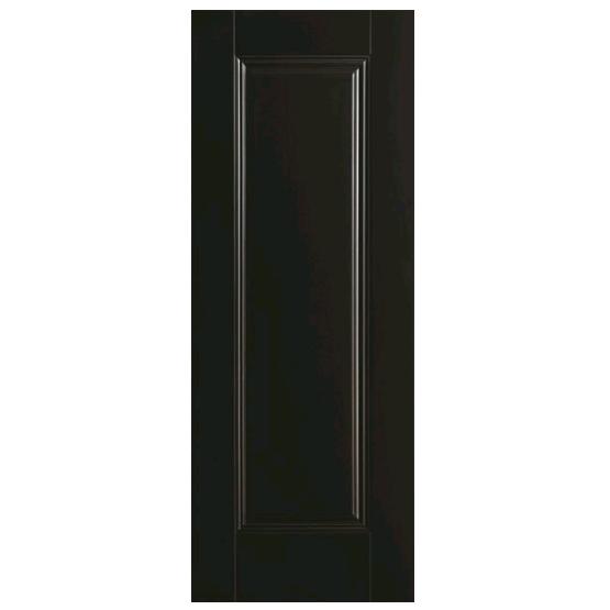 Doras Amsterdam 1P European Black Finish Door