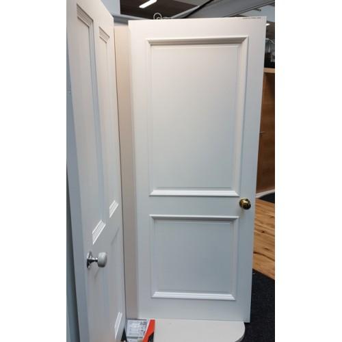 Prehung Interior Doors Ireland: Albany Primed Door (Clear Glass
