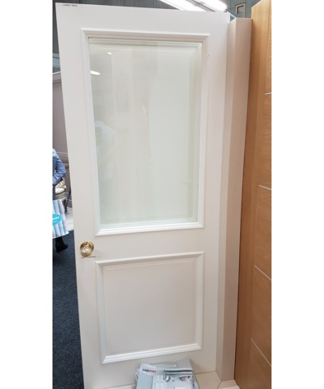 Seadec Albany Primed Door (Clear Glass)