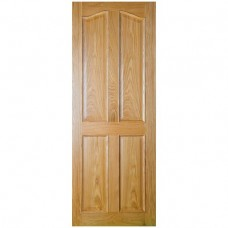 Seadec Oak Bolection 4 Panel Curved Door