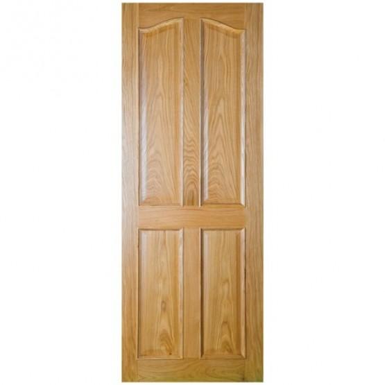 Seadec Oak Bolection 4 Panel Curved Door