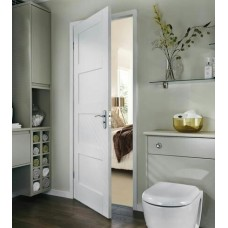 Augusta Primed White Door 4 Panel Shaker