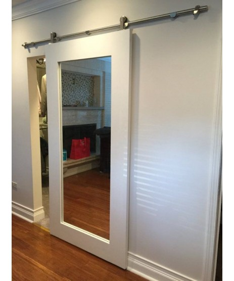 Primed Shaker Mirror Door