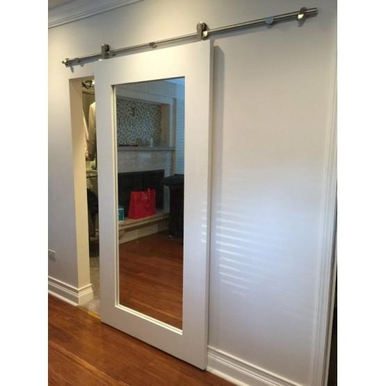 Primed Shaker Mirror Door