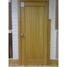 Pre Hung Oak Shaker Door Set