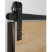 Rustic 80 Barn Door Sliding Rail Set 2M