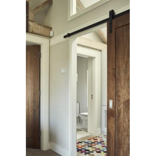 ... Rustic 80 Barn Door Sliding Rail Set 3M ...  sc 1 st  Murphy Larkin Timber products & Henderson Rustic 80 Barn Door Sliding Rail Set 3M