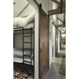 Rustic 80 Barn Door Sliding Rail Set 3M