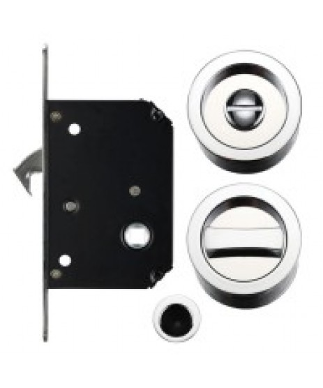 ZOO FB81CP Sliding Door Lock Set