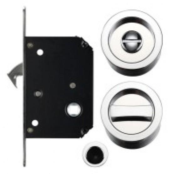 ZOO FB81CP Sliding Door Lock Set