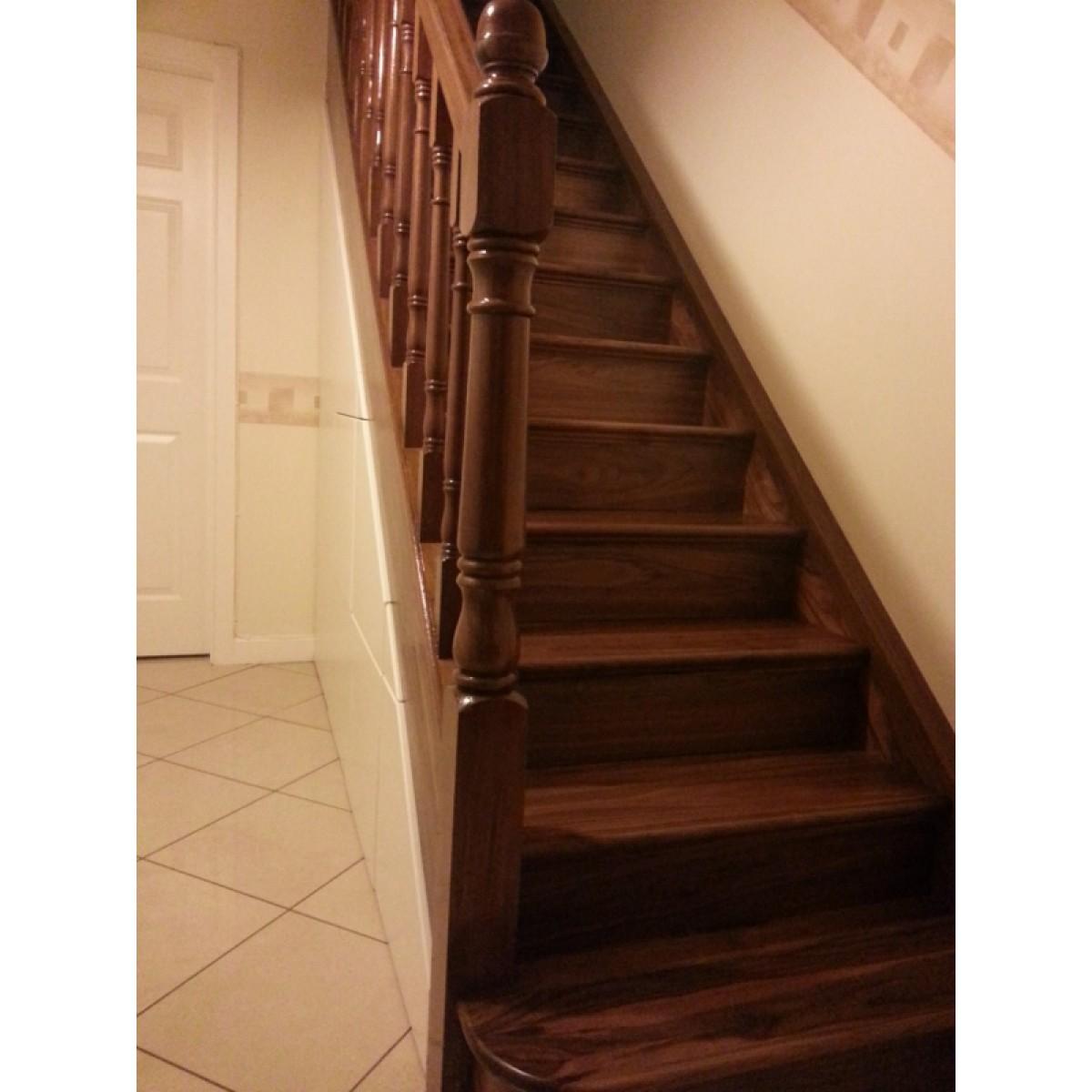 Walnut Stair Step Thread