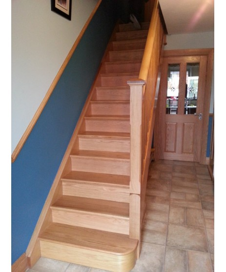 Oak Stairs Step (Thread)