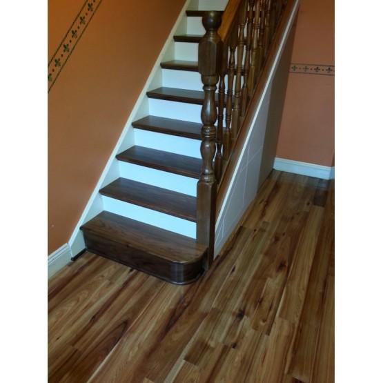 White Stairs Riser
