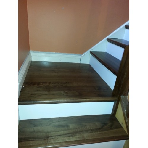 Walnut Stair Step Thread