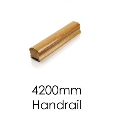 Oak Handrail 4.2 Meter