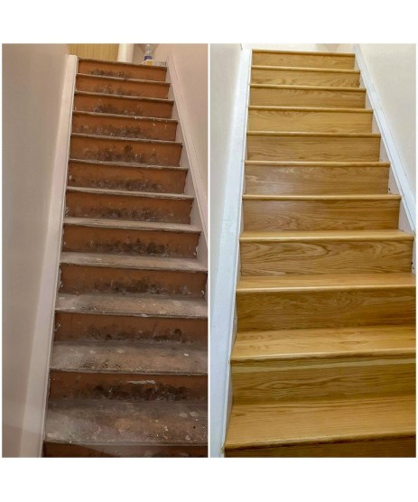 Oak Stairs Riser (Prefinished)