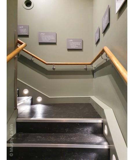 Oak Round Handrail 2.4 Meter