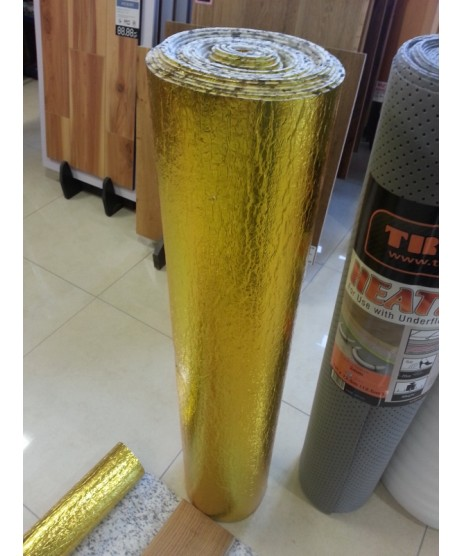 Underlay Gold Foil Soundbarrier (Woodlux) 10M Roll