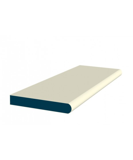 26 x 194mm Painted Wood Window Board - Ivory (2x2.4m)