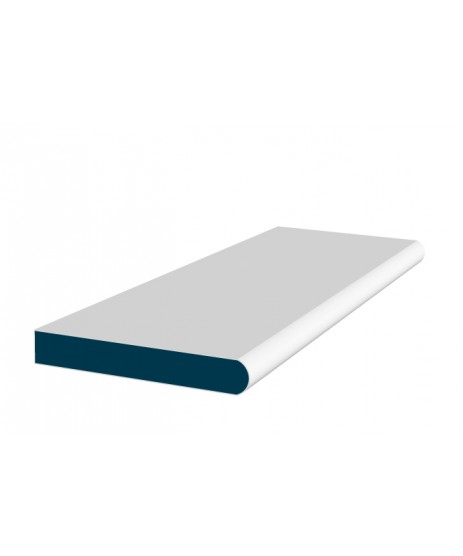26 x 194mm Pre-Painted Wood Window Board - White (2x2.4m)