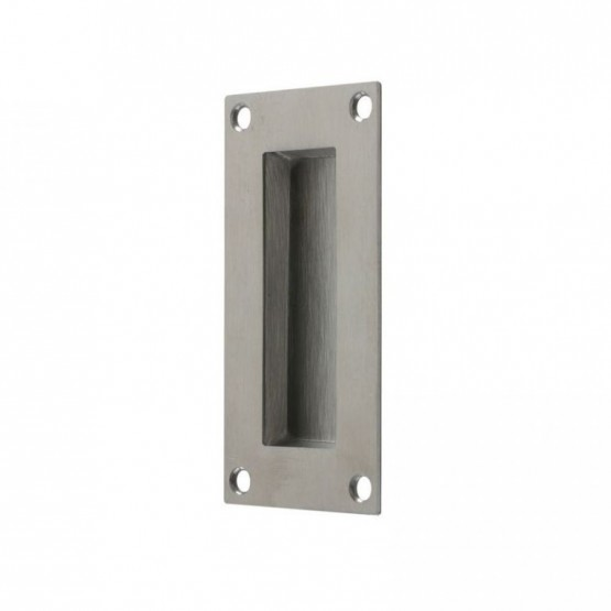 Zoo Satin Stainless Steel Flush Pull Handle ZAS10SS