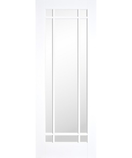 Doras Bora 9 Lite White Primed Door