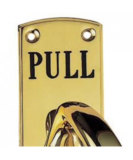 Carlisle Brass Engraved Large Pull Handle PF103ER