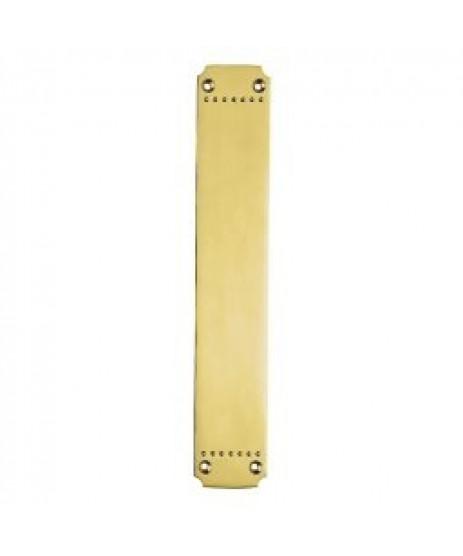 Carlisle Brass Laurin Finger Plate