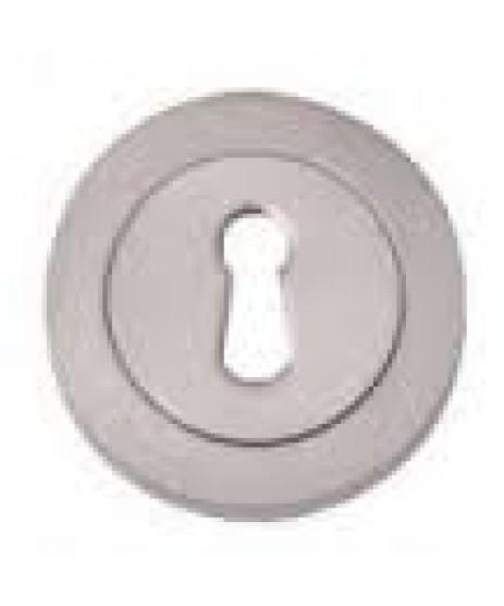 Fortessa Aztec Satin Polished Chrome Lever on Rose Door Handle