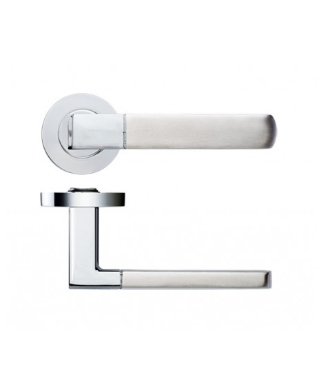 Zoo Hardware ZPZ160 Lever on Rose Door Handle set