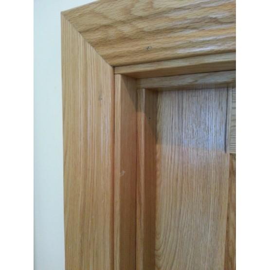 Oak Frame & Moulded Architrave Set