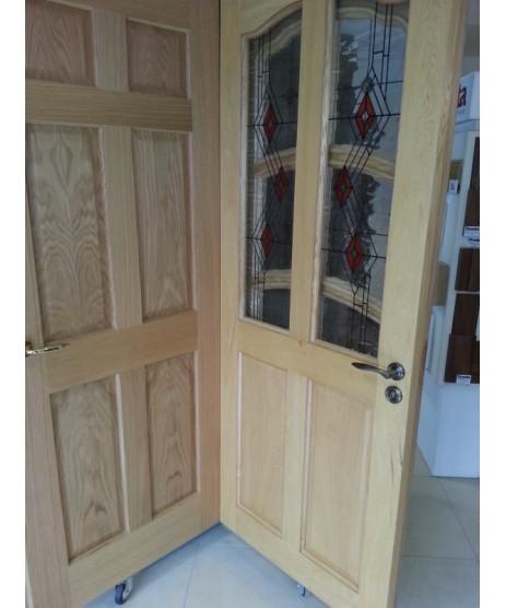 Deanta NM2 Curve top Oak Door