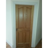 Seadec Belfast Oak Curve Top Door