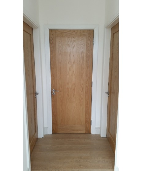 Deanta NM5 Oak shaker Door