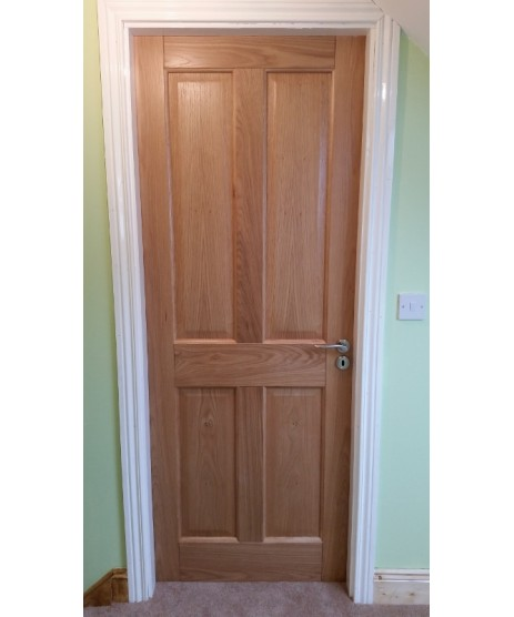 Kingscourt 4 panel Oak Door