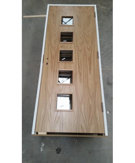 Fire Door Deanta HP19G Oak FD30 (unglazed)