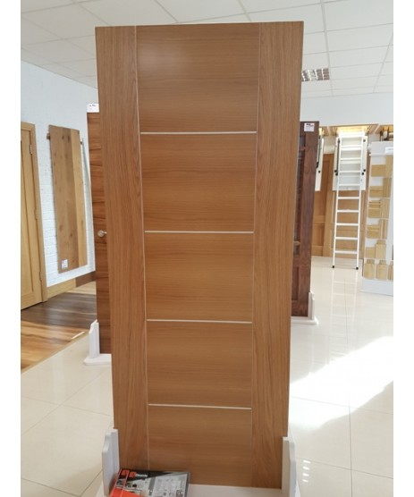 Deanta HP33 Oak Fire Door FD30 as Standard
