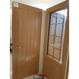 Deanta HP38 Oak Door