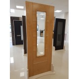 Deanta HP33G Oak Glazed Door