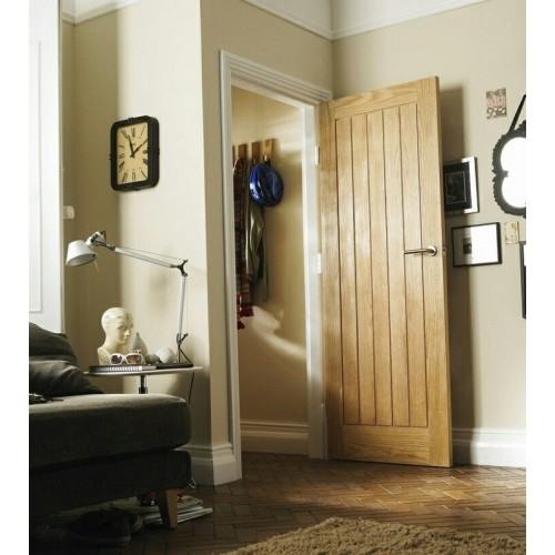 Deanta Hp22 Oak Door