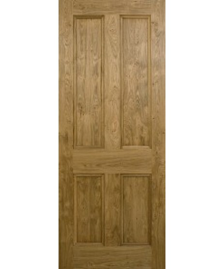 Doras Barley Oak Door 4 panel