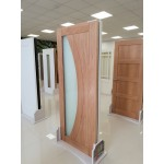 Deanta HP35G Oak Frosted Glass Door