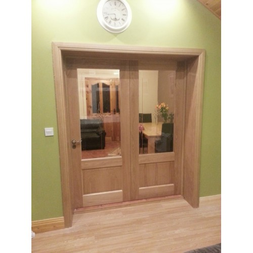 Deanta Nm3g Oak Door Unglazed