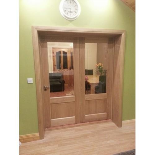 Deanta Nm3g Oak Door Unglazed