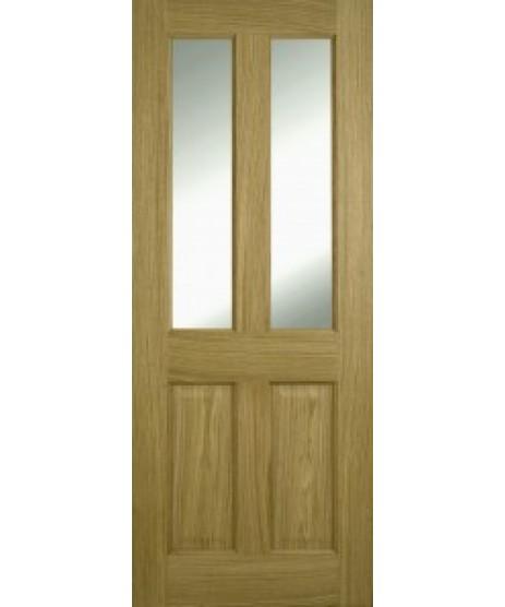 Doras Oak 2P 2 Lite Pre Glazed Door