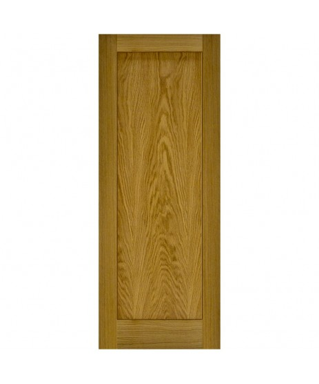 Doras Contract 1P Oak Shaker Door